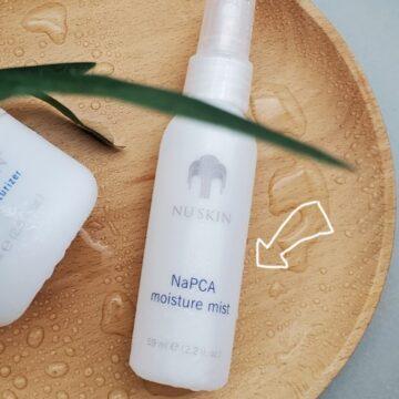 Nu Skin NaPCA Moisture Mist Review