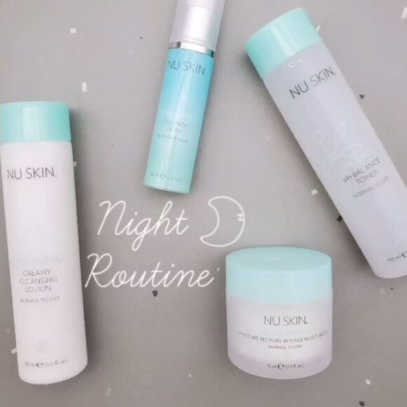 Nutricentials Bioadaptive Skin Care Hydration Kit: Review of Night Time Routine